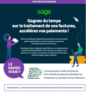 Infographie Sage-efacture